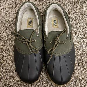 JBU duck boot ankle length.
